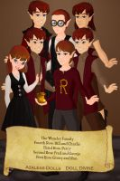 The Weasley Family by KendraKickz0220