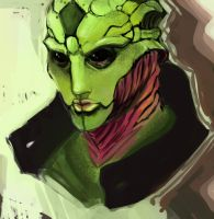 Thane Krios -Old- by Aleigh-B