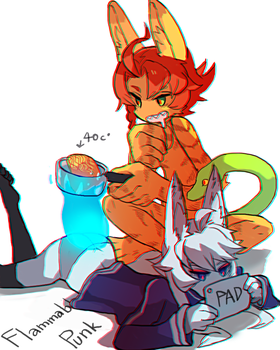 40 C by orangepotion