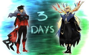 Pokemon X and Y Countdown: 3 days by Hokousha