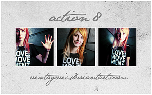 Action 8 by vintagevic