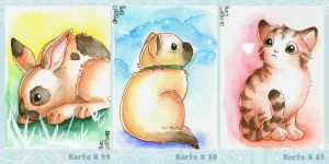 ACEO sweet sweet cuddly etc by Tacaret
