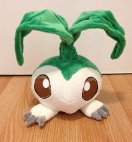 Digimon - Tanemon custom plush by Kitamon