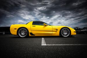 Corvette C5 Side by AmericanMuscle