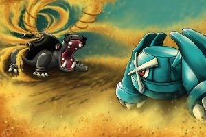 Hippowdon vs Metagross