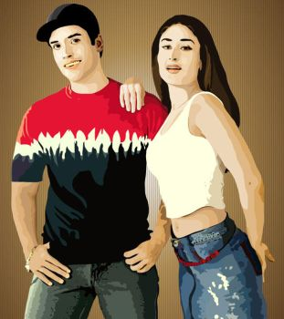 Vector Art - Couple 3 by rames