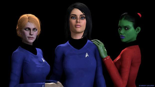 Starship Explorer - Women Power by deciever2000