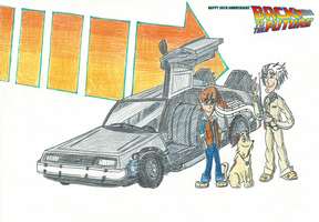 Back To The Future - 30th Anniversary by FelixToonimeFanX360