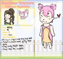 Application for Sunshine Daycare Two by Tweeter72