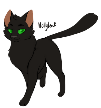 [100 WARRIOR CATS CHALLENGE] #26 - Hollyleaf by toboe5tails
