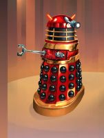 Red Dalek Mark 1 by Harnois75