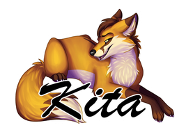 Kita Badge by Silvixen