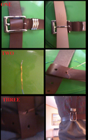 SAM BROWNE BELT TUTORIAL by thexgoldenxdays