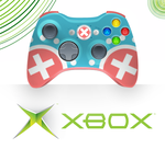 Chopper Xbox 360 Controller Design by xDoubleLx