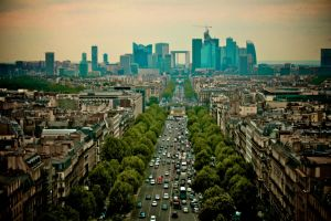 Paris skyline by laurentis