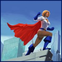 Power Girl by MK01
