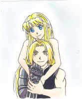 ed and winry by Rina--Inverse
