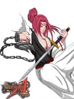 Guilty Gear XX Accent Core - Baiken by kurotsuchi-666