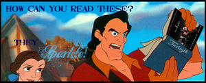 Gaston's Not A Twilight Fan by Ralthara