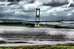 Severn Bridge by Blurred-perception