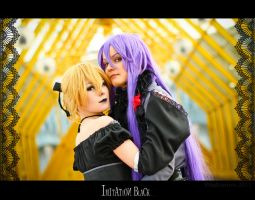 Vocaloid: Imitation black by Salvarion