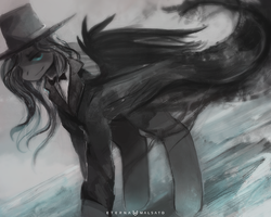 The Crow by FoxInShadow