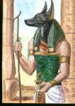 Anubis in the temple by echdhu