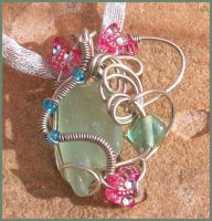 Pixie Pretty Pendant by balthasarcraft