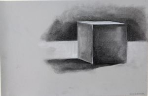 Cube study by Crackinthewall
