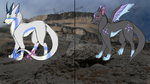 Dragon Wolves *closed species* by pspsp13