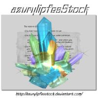 3D object - cristals by AzurylipfesStock