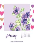 February: Violet by AriesNamarie