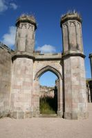 Lowther Castle 7 by GothicBohemianStock