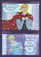 Aph: Frozen - You don't have to live in fear! by Nordicferret