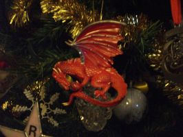 red dragon ornament by legendarydragonstar