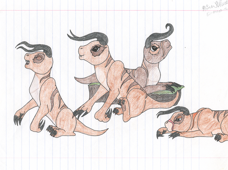 Baby Deathclaws by PvtPuma