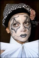 Sad Clown/Mime Show Makeup by CPA-x-e-n-o-i