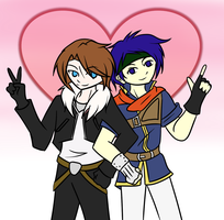 To Squall and Ike by Ask-GreenLink