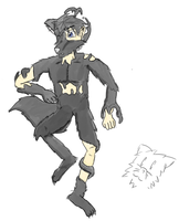 Art Trade : Wolf costume TF by Masatoshi