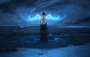 ANGEL OF LIGHT by MirellaSantana
