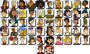 Total Drama All Characters! by MartinTDLover