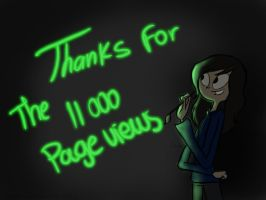Thanks for the 11 000 pageviews by Zeldamusiclover99