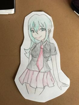 Rina doodle  by TheHentaiLady