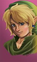 Link - ToZ by DrawingSpirit2015