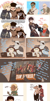 Dragon Age doodle dump by BlackMayo