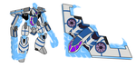 [Airmech] Ice bomber ground and air mode by Mechanized515