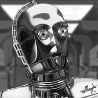 C3PO: Oh dear. by InvaderKeith