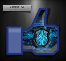 Axtelera Ray Facebook Like by Visual3Deffect