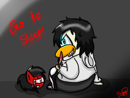 .::Jeff...As a penguin?!::. by AppleandPenguinlover