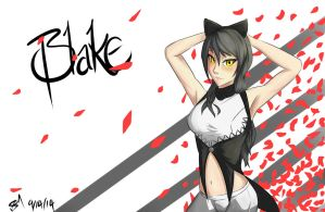 Blake, Pose. by A-SgtMichaels